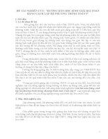 ĐỀ TÀI NGHIÊN CỨU: HƯỚNG DẪN HỌC SINH GIẢI BÀI TOÁN BẰNG CÁCH LẬP HỆ PHƯƠNG TRÌNH TOÁN 9
