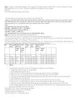 Tổng hợp 100 bài tập kế toán thuế có lời giải tỉ mỉ