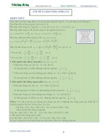 lý thuyết và bài tập giao thoa song