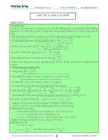 lý thuyết và bài tập con lắc đơn