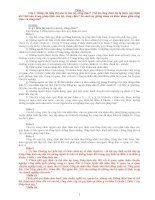 Tổng hợp đề thi và đáp án thi tuyển công chức 2014 môn kiến thức chung