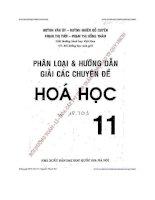 phân loại & hướng dẫn giải các chuyên đề hóa học 11 - huỳnh văn út