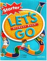 oxford let''s go starter student book