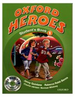 oxford heroes student book 1