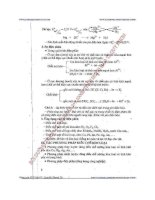 trọng tâm kiến thức hóa học 12 hóa vô cơ - đỗ xuân hưng