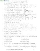 tuyển tập các đề thi đh môn vật lý