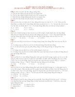 Tuyển tập 717 câu trắc nghiệm hóa học có đáp án