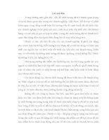 ĐỀ TÀI: Phân tích thực trạng tình hình quản lý chất lượng của công ty Rượu Hà Nội