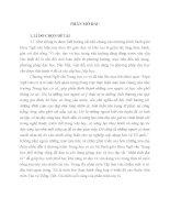 rèn kĩ năng viết đoạn mở bài trong bài văn nghị luận cho học sinh trung học phổ thông