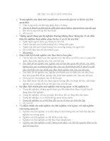 ĐỀ THI PHƯƠNG PHÁP NGHIÊN CỨU KHOA HỌC( 33 CÂU CÓ ĐÁP ÁN)
