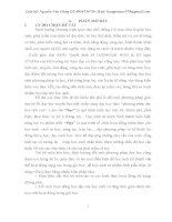 SỬ DỤNG BÀI TẬP PHÂN HÓA TRONG GIẢNG DẠY CHƯƠNG SỰ ĐIỆN LI NHẰM NÂNG CAO CHẤT LƯỢNG DẠY HỌC HÓA HỌC