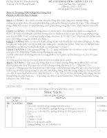 50 bộ đề thi học sinh giỏi lớp 8 có đáp án chi tiết
