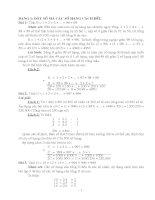 các bài tập nâng cao toán lớp 7