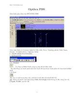 Hướng dẫn sử dụng phần mềm Optitex- Phần mềm ngành dệt may