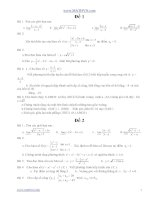 12 đề ôn tập kiểm tra học kì 2 toán 11