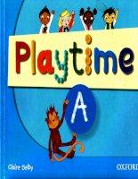 playtime a classbook