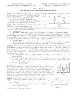 tuyển tập 30 đề thi vật lý chuyên 9 lên 10 thcs