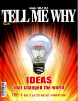 tell me why ideas that changed the world
