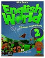 english world grammar practice book 2