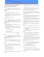Tổ hợp xác suất ( tài liệu ôn thi)