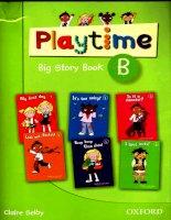 playtime b big storybook