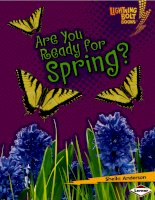 are you ready for spring