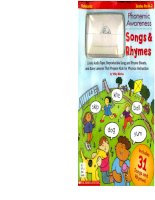 phonemic awareness song and rhymes