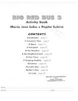 big red bus level 3 activity book