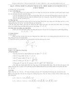 Bài toán tổng hợp lực
