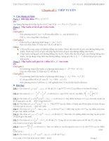 CỰC TRỊ của hàm số các bài toán liên quan