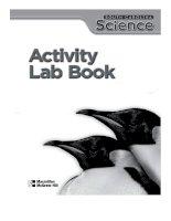 science activity lab book