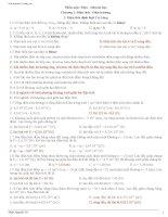 câu hỏi và bài tập trắc nghiệm vật lý 11 nâng cao