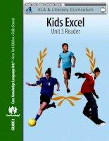 kids excel unit 3 reader