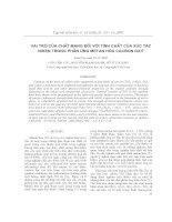 vai trò của chất mang đối với tính chất xúc tác niken trong phản ứng ch4 hóa co2