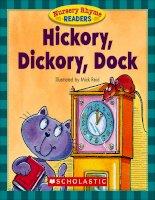 nursery rhyme readers hickory dickory dock