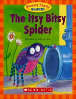 nursery rhyme readers the itsy bitsy spider