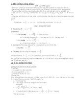 vật lý 12 chuyên đề sóng ánh sáng đầy đủ