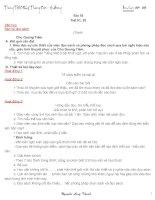 Giáo án thao giảng Bài 18 Bàn về đọc sách