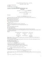 chuyên đề ôn tập hóa 12 lí thuyết và bài tập