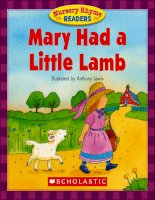 nursery rhyme readers mary had a little lamb