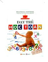 Dậy trẻ học toán theo phương pháp Glenn Doman Janet Doman