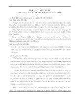ĐỒ ÁN LẬP HỒ SƠ DỰ THẦU XÂY LẮP CÔNG TRÌNH