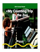 my counting trip to the zoo