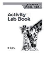 south carolina science activity lab book
