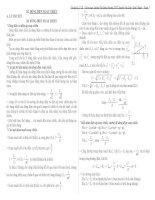 Lý thuyết và bài tập điện xoay chiều có hướng dẫn giải