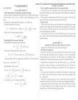 Lý thuyết và bài tập dao động điện từ có đáp án