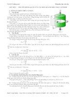 Chuyên đề động lực học vật rắn