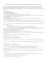 Tóm tắt lý thuyết và công thức giải bài tập chương dao động cơ