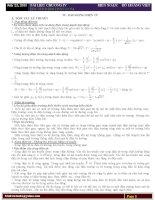 Lý thuyết và bài tập Dao động điện từ