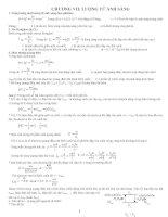 Lý thuyết và bài tập phần lượng tử ánh sáng